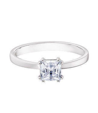 Swarovski Attract ring Square Engage silver
