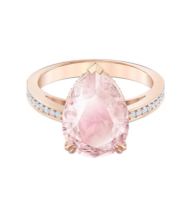 Swarovski Vintage ring rose