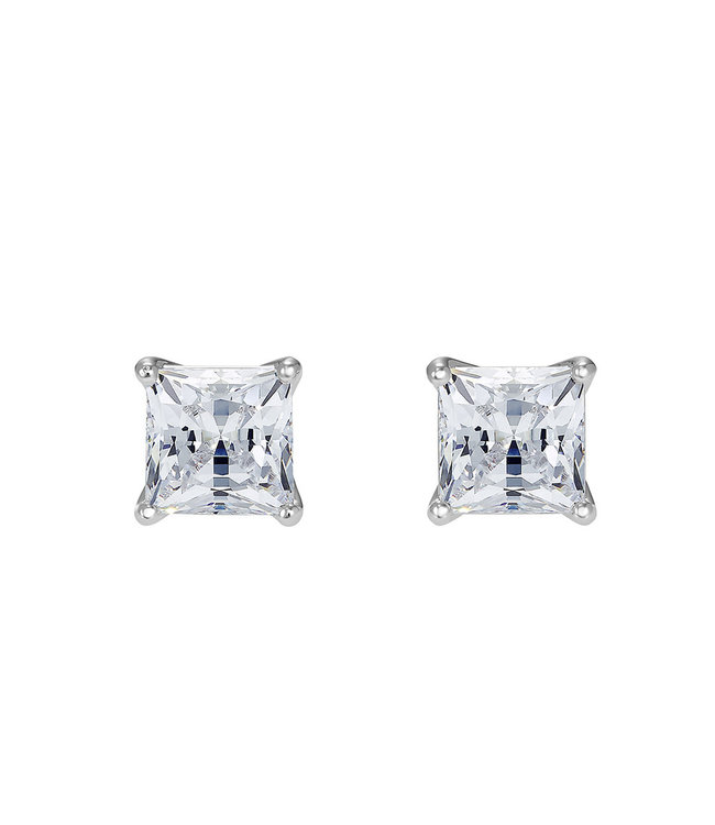 Swarovski Attract pierced earrings Square 5509936