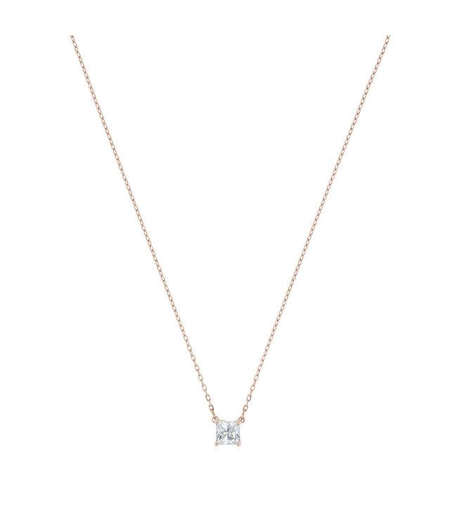 Swarovski Attract necklace Square rose 5510698