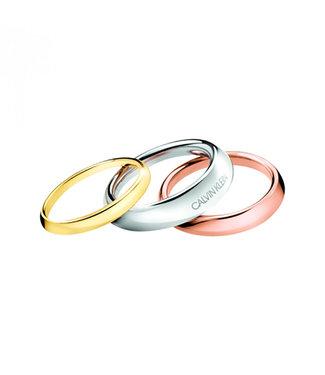 Calvin Klein ring Groovy Size 54 KJ8QDR300107