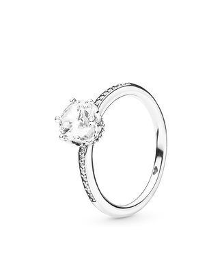 Pandora Clear Sparkling Crown ring 198289CZ