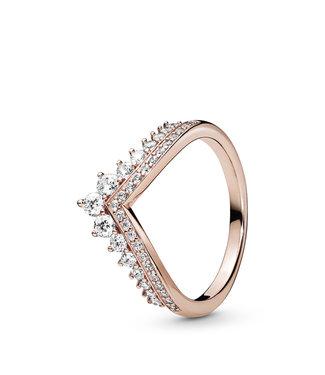 Pandora Princess Wishbone stackable ring 187736CZ