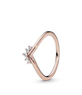 Pandora Tiara Wishbone stackable ring 188282CZ