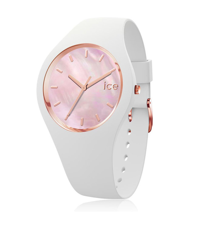 Ice Watch Ice Pearl - White Pink - Small - 016939