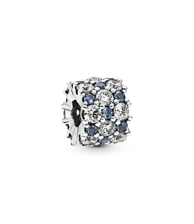 Pandora Blue Sparkle All Over 798487C02