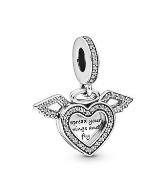Pandora Heart & Angel Wings 798485C01