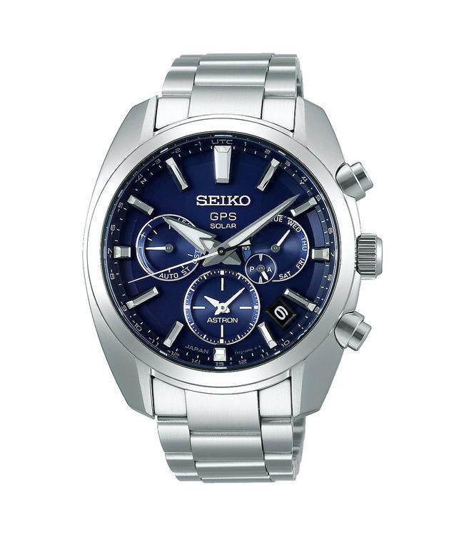 Seiko Astron GPS Solar Dual-Time heren horloge SSH019J1