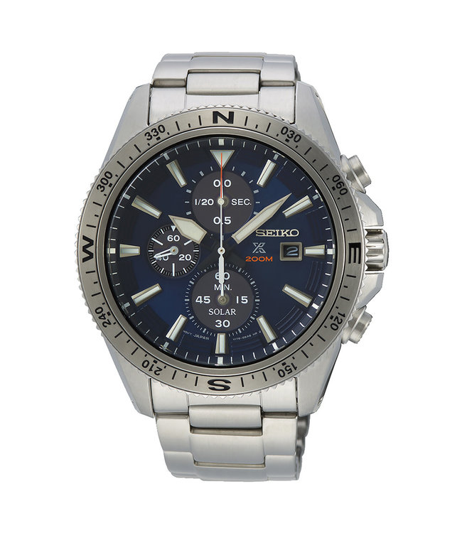 Seiko Prospex Solar Chronograph heren horloge SSC703P1