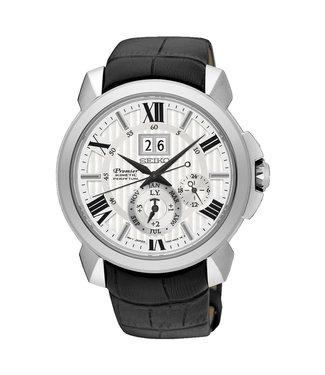 Seiko Premier Kinetic Perpetual heren horloge SNP143P1
