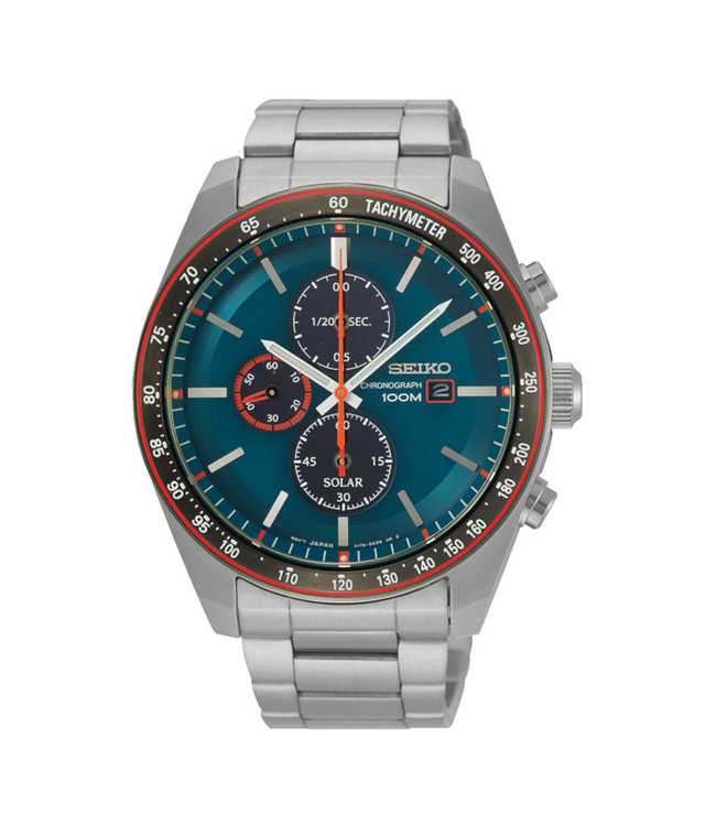 Seiko Solar Chronograph heren horloge SSC717P1