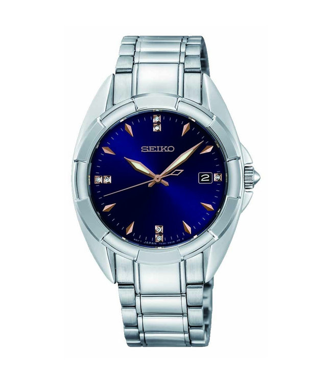 Seiko Classic dames horloge Diamonds SKK889P1