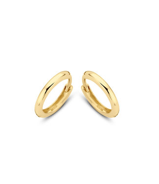 Lisamona Gold oorringen 14kt geelgoud 11mm G0046