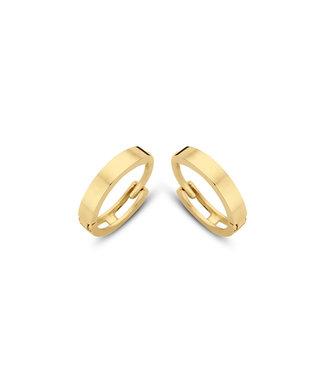 Lisamona Gold oorringen 14kt geelgoud 10mm G0047