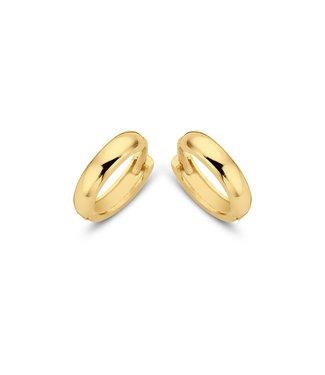 Lisamona Gold oorringen 14kt geelgoud 11mm G0062