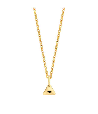 Lisamona Gold ketting 14kt geelgoud Triangle G0072
