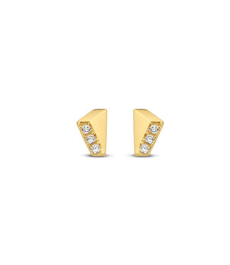 Lisamona Gold oorbellen 14kt geelgoud G0089