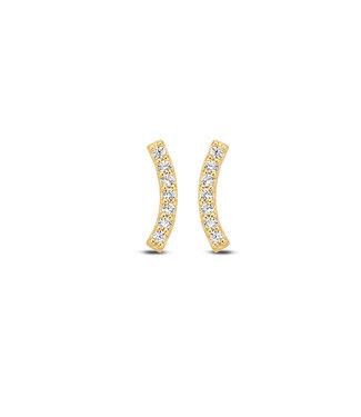 Lisamona Gold oorbellen 14kt geelgoud G0093