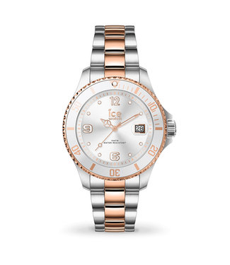 Ice Watch Ice Steel - Silver Rose-Gold - Small - 017322