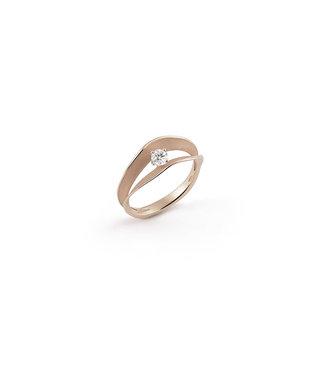 Annamaria Cammilli ring Essential Dune Assolo natural gold GAN1423N