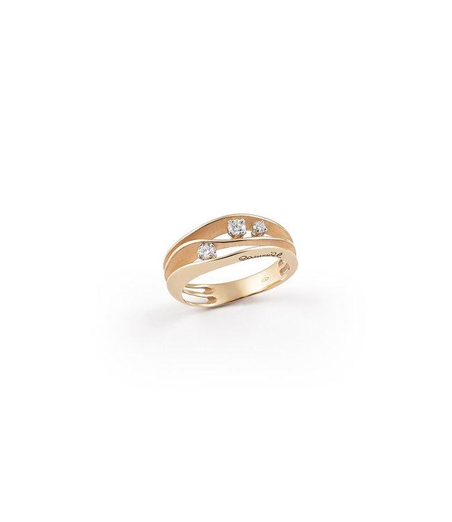 Annamaria Cammilli ring Dune orange gold GAN2662J