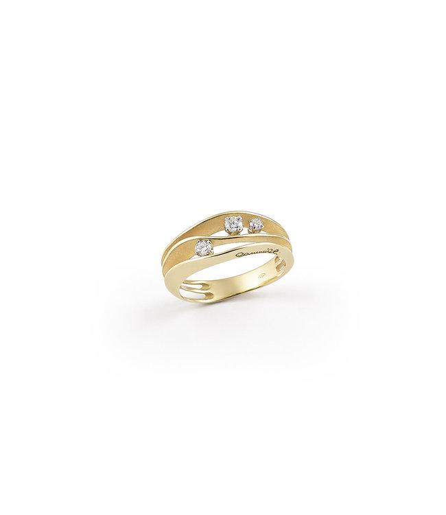 Annamaria Cammilli ring Dune yellow gold 2662U