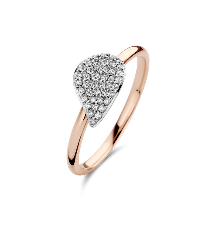 Bigli ring Mini Leaves 23R189RWdia