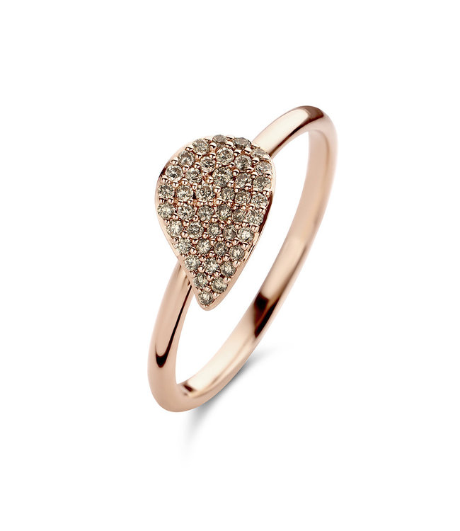 Bigli ring Mini Leaves 23R189Rbrdia