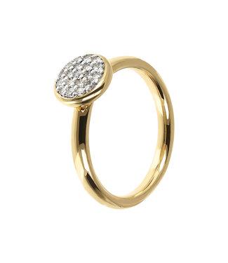 Bronzallure Round Pavé ring WSBZ01547YY