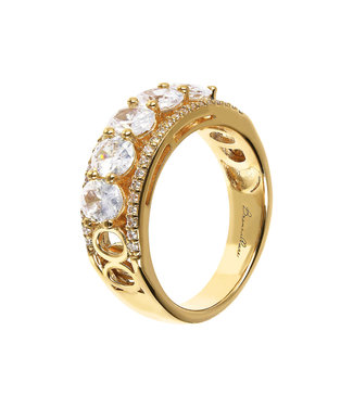 Bronzallure Fancy Band ring with gemstone WSBZ01610YY