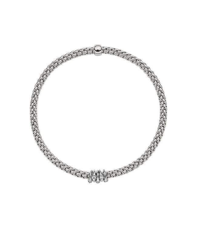Fope armband Prima witgoud 746B BBRM