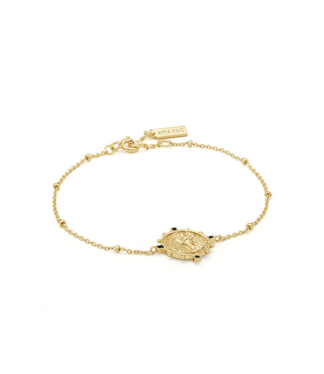 Ania Haie Gold Digger - Victory Goddess bracelet B020-04G