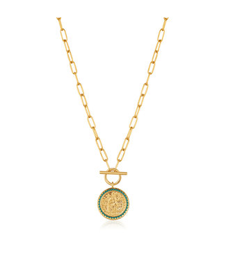 Ania Haie Gold Digger - Emperor T-Bar necklace N020-05G