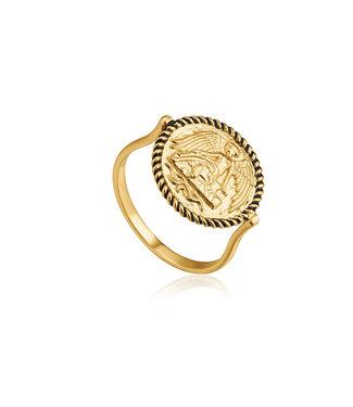 Ania Haie Gold Digger - Winged Goddess ring R020-01G