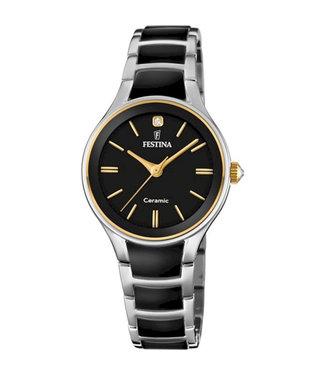 Festina Ceramic dames horloge F20474/4