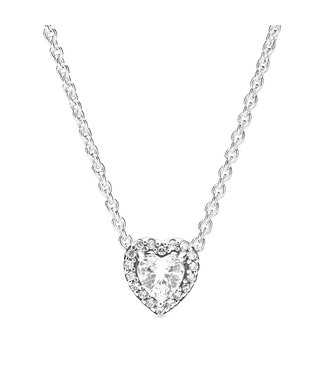 Pandora Elevated Heart necklace 398425C01