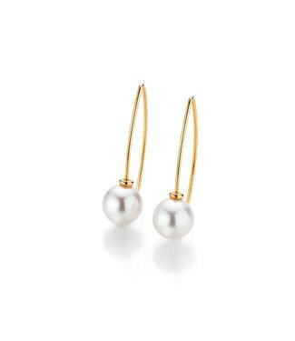 Gellner Pearls oorbellen 18 kt goud H2O 5-22022-04