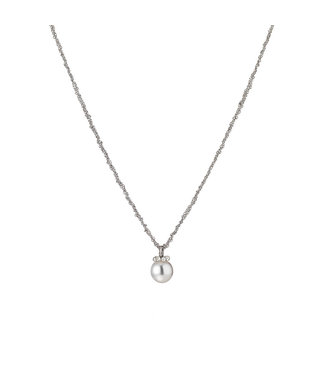 Gellner Pearls ketting zilver en 18 kt Passion Design 5-22454-37