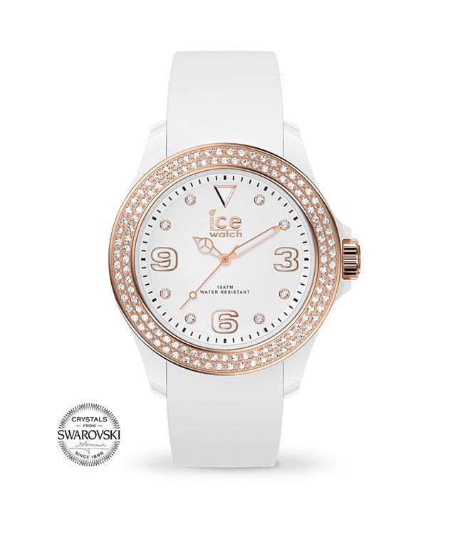Ice Watch Ice Star - White Rose-gold Smooth - Small - 017232