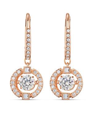 Swarovski Sparkling DC pierced earrings drop rose 5504753