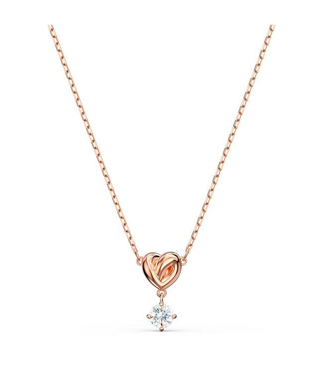 Swarovski Lifelong Heart pendant rose 5516542