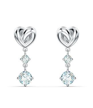 Swarovski Lifelong Heart pierced earrings drop 5517943