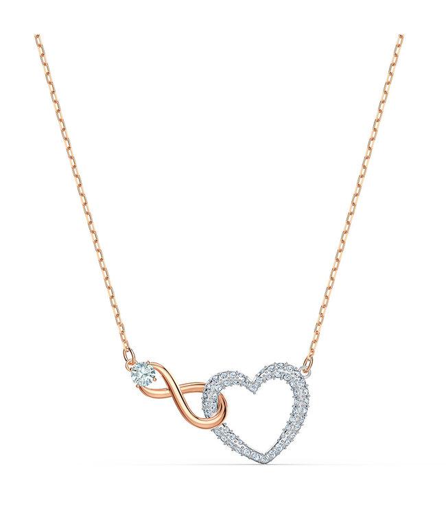 Swarovski Swa Infinity collier Heart and Infinity 5518865
