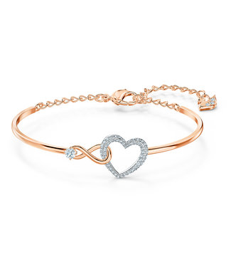 Swarovski Swa Infinity bangle Heart and Infinity 5518869