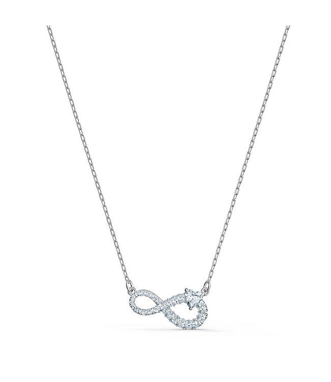 Swarovski Swa Infinity collier Heart 5520576