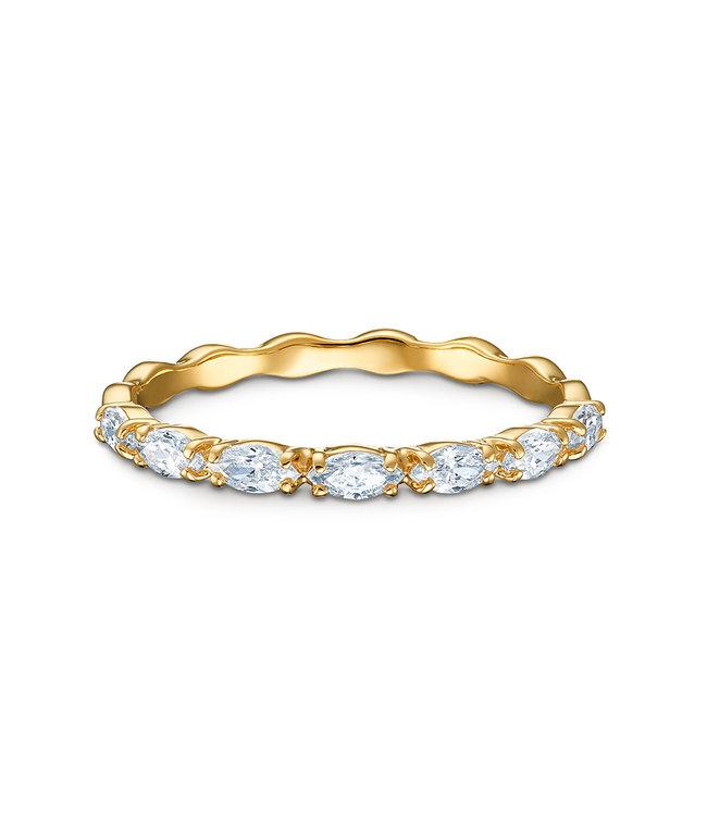 Swarovski Vittore Marquise ring gold