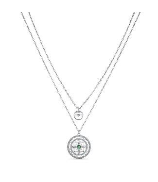 Swarovski Swa Symbol collier Mandala 5541987
