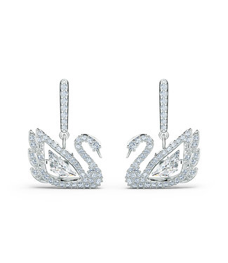 Swarovski Dancing Swan pierced earrings 5514420