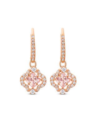 Swarovski Sparkling Dance pierced earrings Clover 5516477