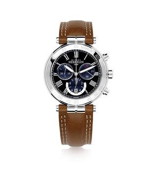 Michel Herbelin Newport Classic Chrono heren horloge 37654/AP04GO